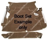 Aston Martin DB6 MkI 1965 to 1969 Boot Carpet Set - Blenheim Range